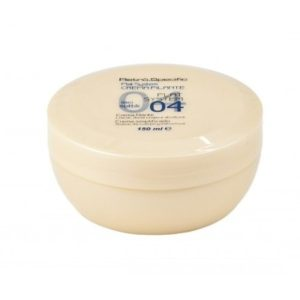 Crema lisciante per capelli lisci