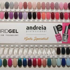 Smalto per unghie Hybrid gel Andreia