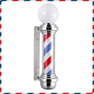 Barber Pole con sfera