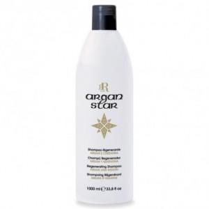 Shampoo argan e cheratina rigenerante